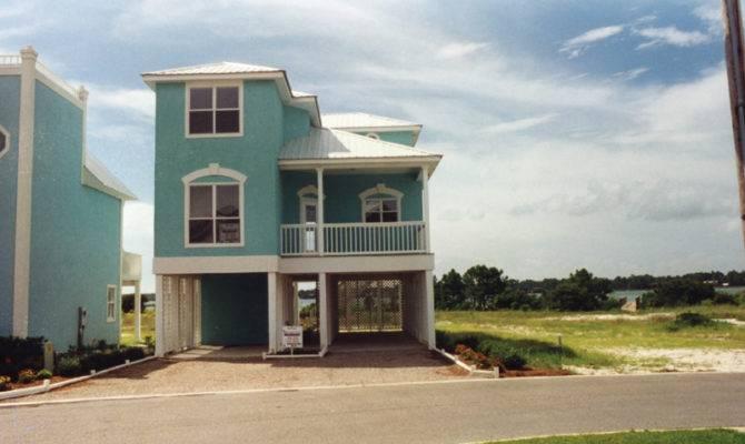 Plans Beach Coastal House Florida Southern