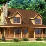 Plans Beaufort Log Home Plan House Pinterest Logs