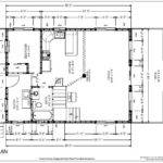 Plans Blueprint Cabin