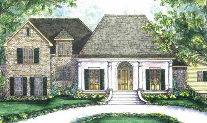 Plans Cozy Creole Cottage Southern House Floor Plan