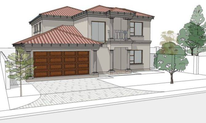 Plans Double Storey Houses South Africa Home Deco