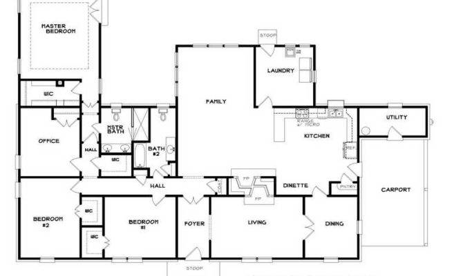 Plans Floor Plan House Log Home