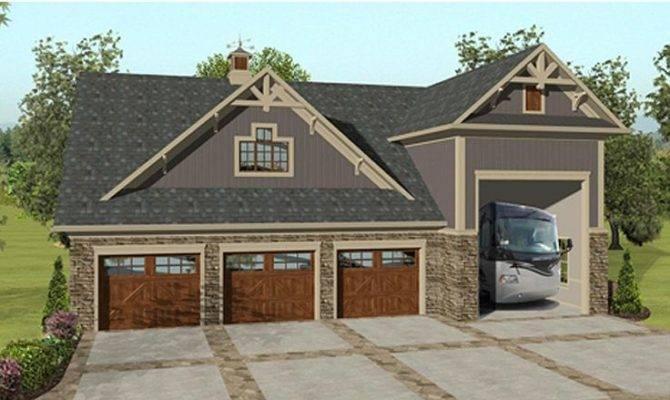 Plans Garage Apartment Plan Bay Car Design
