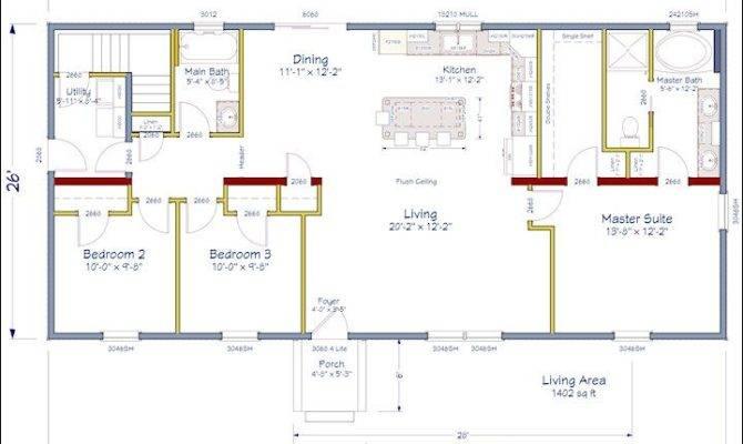 Plans House Ideas Dream Floorplans Open Concept Floor Plan