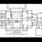 Plans House Manor Drawing Georgian Arquitectura Planos