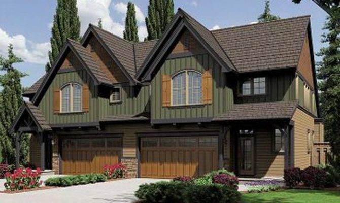 Plans House Plan Duplex Floor Design