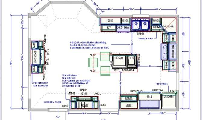 Plans Kitchen Drafting Service Floor