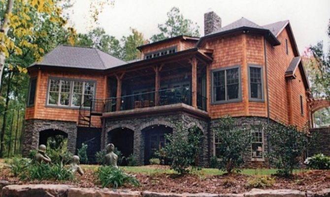Plans Lake House Home