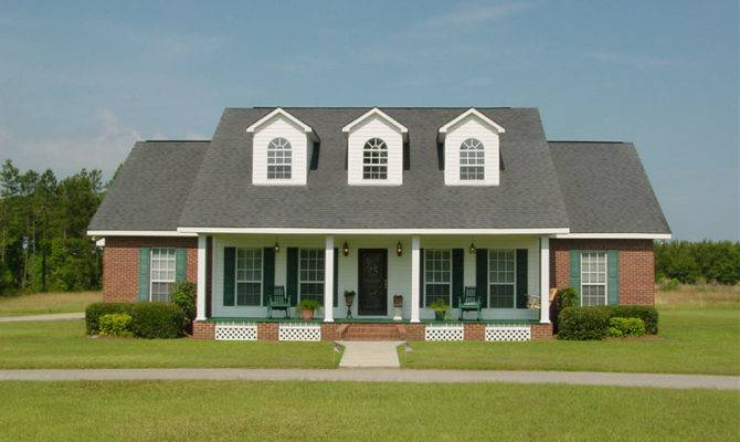 Plans Lowcountry House Ranch Southern