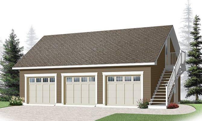 Plans Modern Styles Minimalist Detached Garage Small
