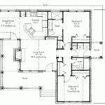 Plans Porch Backyard Deck Floor Plan Design House Blueprint