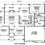 Plans Ranch House Floor Unique American Porch