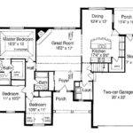 Plans Ranch Style Houses Beautiful House