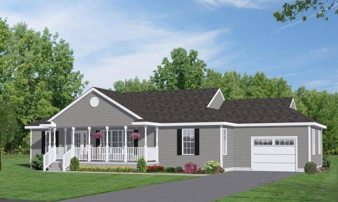 Plans Rancher Two Story House Ranch Style Home