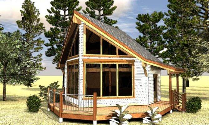 Plans Small Guest House Efficient