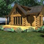 Plans Small Log Cabin Floor Home House
