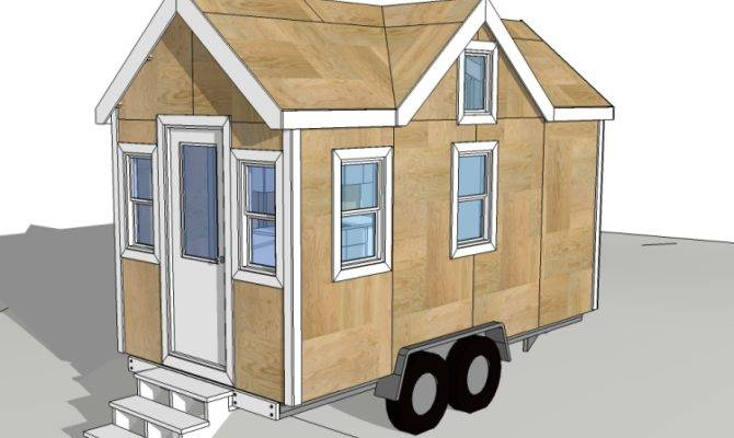 Plans Tiny Houses Wheels Home Deco