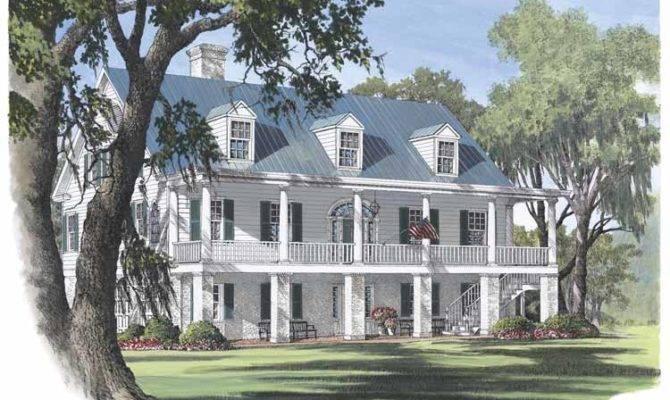 Plantation Home House Plans
