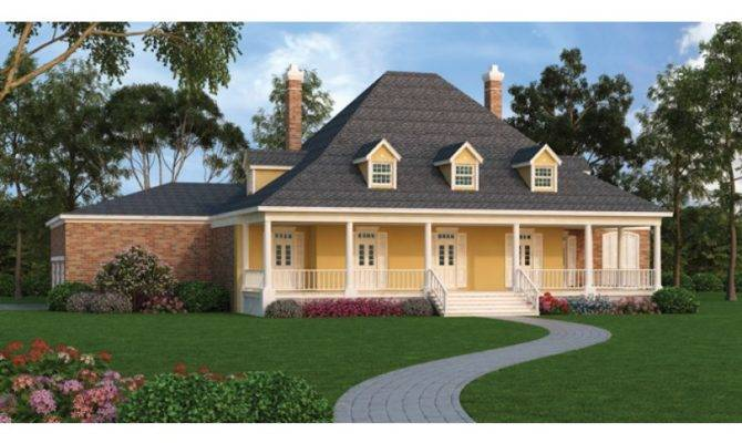 Plantation House Plans Porches