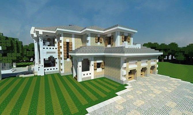Plantation Mansion House Minecraft Building Inc