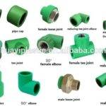 Plastic Hot Cold Water Supply Ppr Pipe Fitting Buy