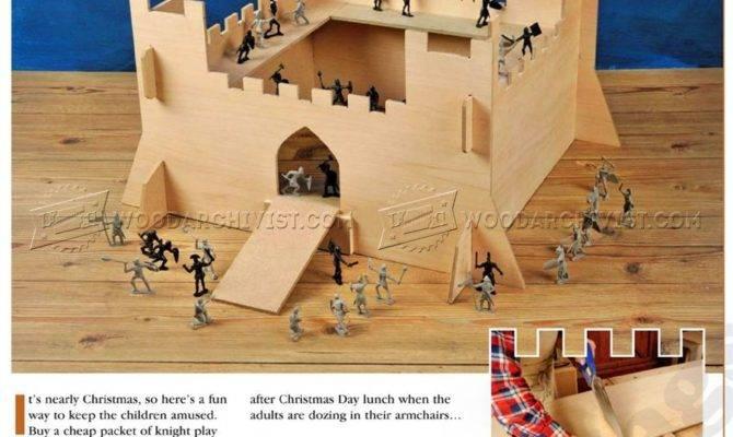 Play Castle Plans Woodarchivist