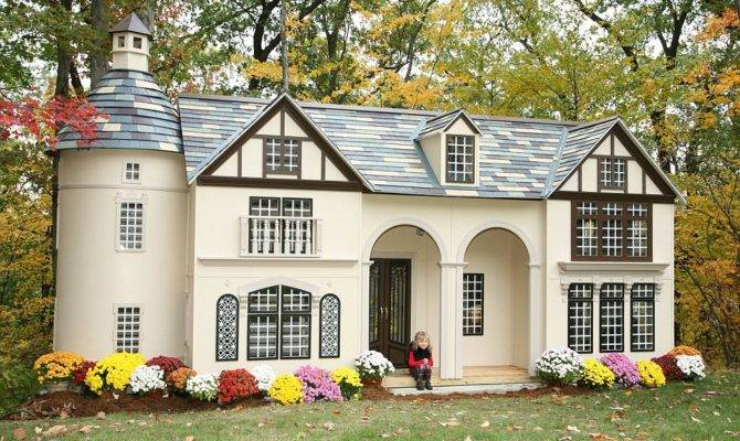 Play Houses Inside Miniature Mansions Custom Built