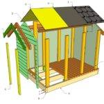 Playhouse Plans Howtospecialist Build Step