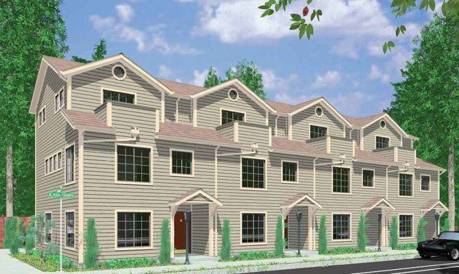 Plex House Plans Multiplexes Quadplex