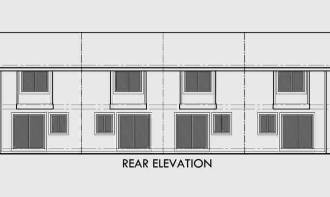 Plex Plans Story Townhouse Bedroom