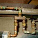 Plumbing Cold Water Entering Hot Circuit Home Improvement