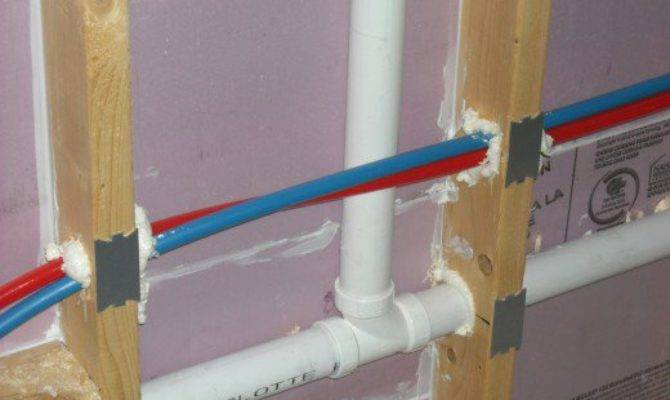 Plumbing Hot Cold Water Lines Should Not Touch