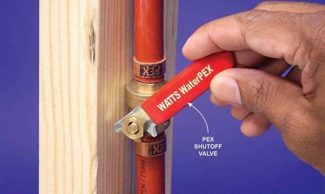 Plumbing Pex Tubing Handyman