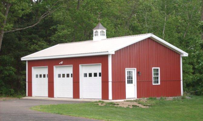 Pole Barn Garage Kits