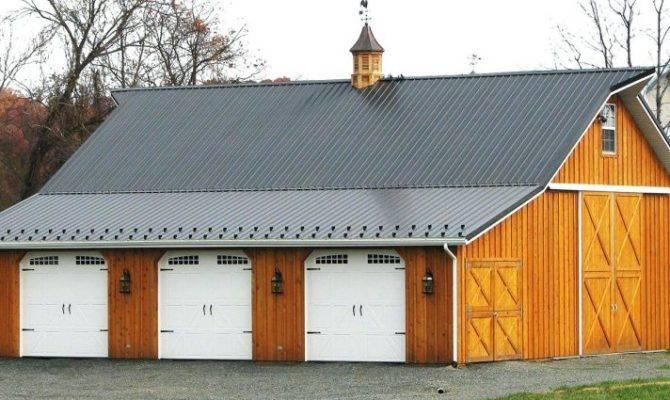 Pole Barn Garage Venidami