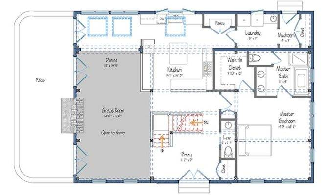 Pole Barn House Plans Blueprints Style Floor