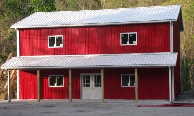 Pole Barn House Plans Milligan Gander Hill Farm