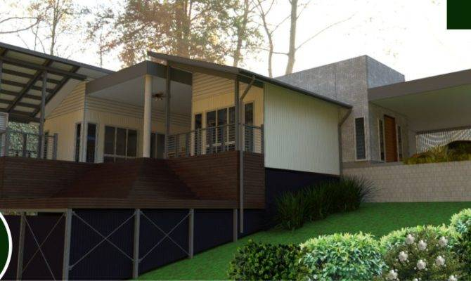 Pole Home Designs Sloping Block