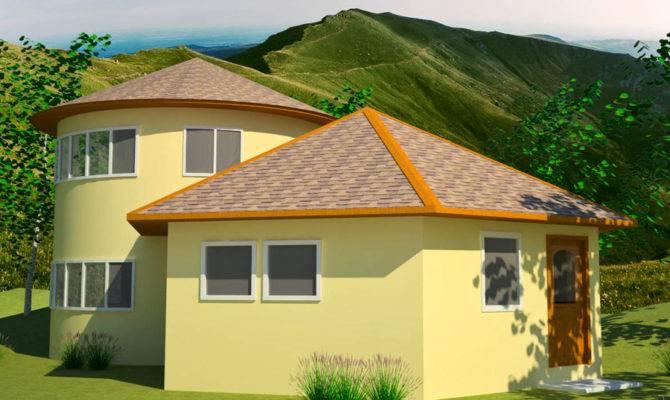 Polygonal Hexagonal Etc Earthbag House Plans