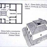 Pompeian House Drawing