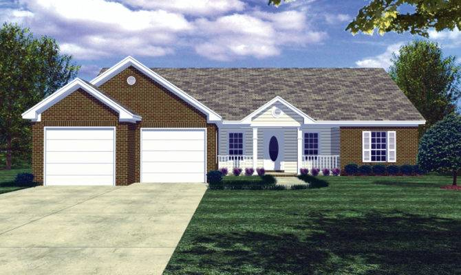 Pompeii Ranch Style Home Plan House Plans More
