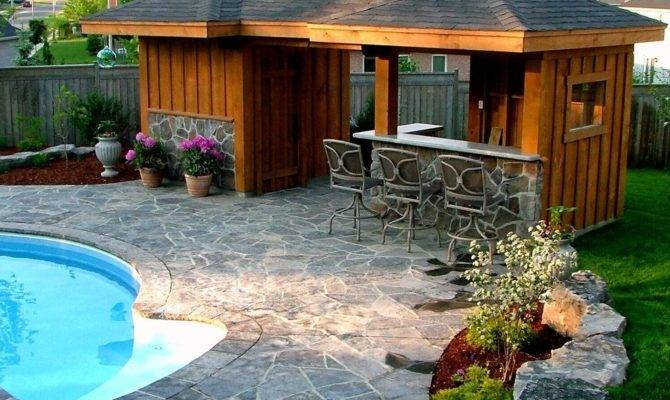 Pool Cabana Ideas Traditional Outdoor Dining Hot Tub