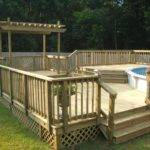 Pool Decks Above Ground Pools Plans