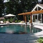 Pool Guest House Floor Plans