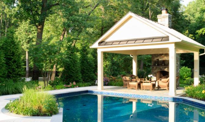 Pool House Design Clarksville Plans