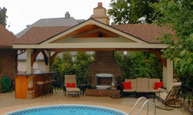 Pool House Designs Beautiful Area Natural