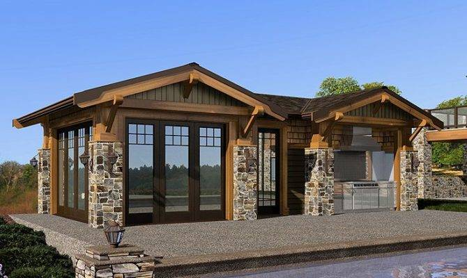 Pool House Designs Outdoor Kitchen Peenmedia
