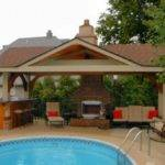 Pool House Designs Plans Backyard Cabana