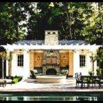 Pool House Outdoor Kitchen Designs Youtube