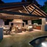 Pool House Outdoor Kitchen Farm Ideas